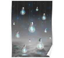 Shine From Within (Shine Bright Series) • Ice Blue  Poster