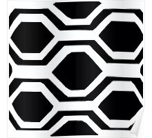 Black and White and Bold Poster