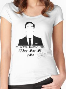 The Consulting Criminal Women's Fitted Scoop T-Shirt