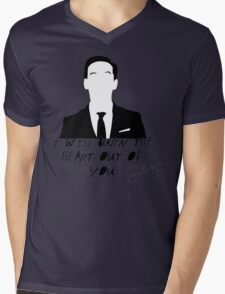 The Consulting Criminal Mens V-Neck T-Shirt