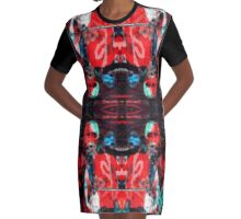 Mannequin Series Graphic T-Shirt Dress