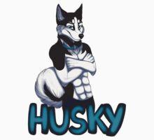 Anthro Husky  by AtomicMilkshake