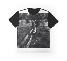 Rustic Fence Graphic T-Shirt