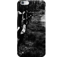 Rustic Fence iPhone Case/Skin