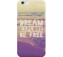 Be Free iPhone Case/Skin