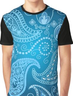 Seamless paisley pattern Graphic T-Shirt
