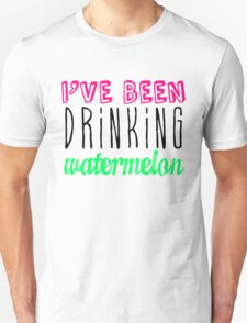 Drinking Watermelon Unisex T-Shirt