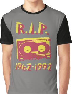 Retro Cassette Tape RIP Graphic T-Shirt