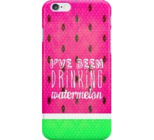 Drinking Watermelon iPhone Case/Skin