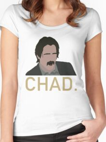 Chad. Women's Fitted Scoop T-Shirt