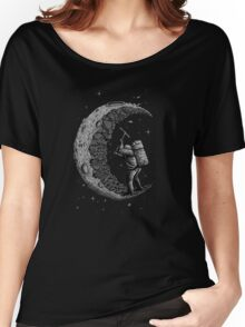 digging the moon Women's Relaxed Fit T-Shirt