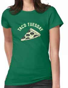 Taco Tuesday Womens Fitted T-Shirt