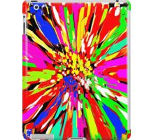 Dahlia Psychedelic Red Abstract iPad Case/Skin