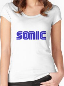Sonic Logo Women's Fitted Scoop T-Shirt