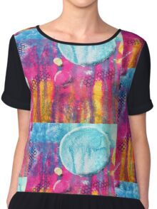 Colourful Life Chiffon Top