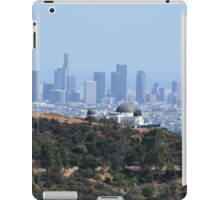 Downtown Los Angeles from Griffith Park  iPad Case/Skin