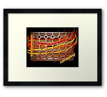 Just Venting Framed Print