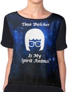 Tina Belcher  Is My Spirit Animal  Chiffon Top