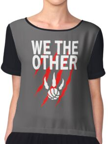 We the Other Funny Basketball Women's Chiffon Top