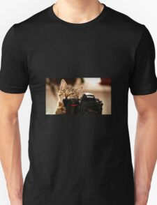 Cat Photographer Unisex T-Shirt