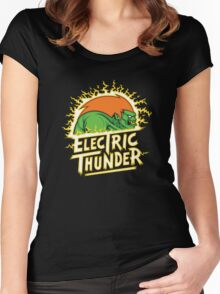 electric thunder Women's Fitted Scoop T-Shirt
