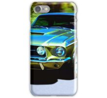 1967 Ford Mustang iPhone Case/Skin