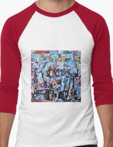 DISLOCATED,  but  still COOL (My head exploded) Men's Baseball ¾ T-Shirt