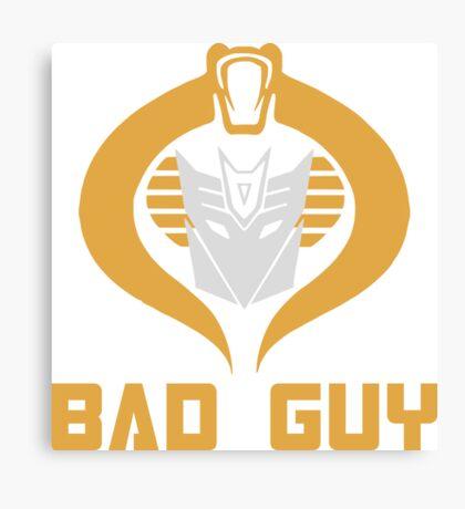 Bad Guy Canvas Print