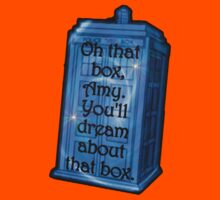 Doctor Who -TARDIS Dream Quote Kids Clothes