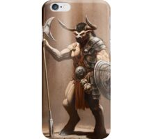 Guardian of the Labyrinth iPhone Case/Skin