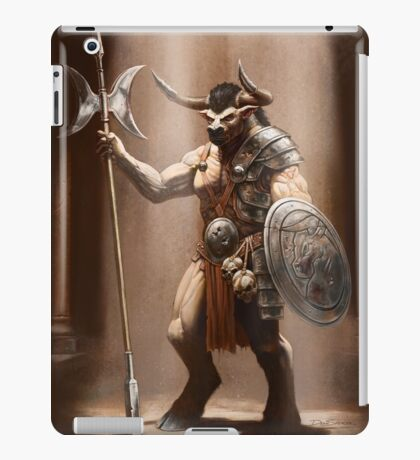 Guardian of the Labyrinth iPad Case/Skin