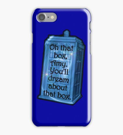 Doctor Who -TARDIS Dream Quote iPhone Case/Skin