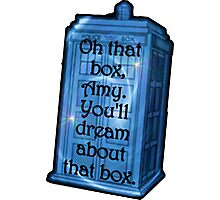 TARDIS Dream - Doctor Who Photographic Print