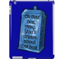 Doctor Who -TARDIS Dream Quote iPad Case/Skin