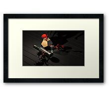 Still life with three red dragons Framed Print