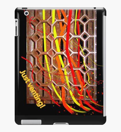 Just Venting iPad Case/Skin