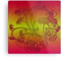Colorful Decoration Metal Print