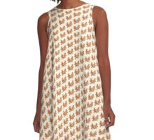 Gingerbread People A-Line Dress