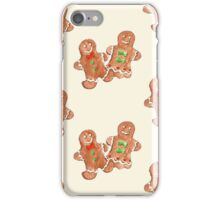 Gingerbread People iPhone Case/Skin