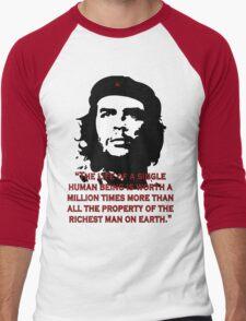 Che Guevara Quote Men's Baseball ¾ T-Shirt