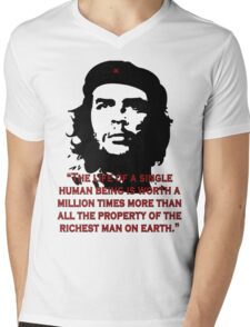 Che Guevara Quote Mens V-Neck T-Shirt