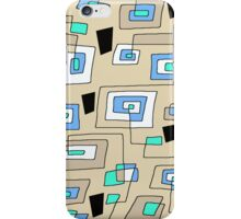 Maze Abstract   iPhone Case/Skin