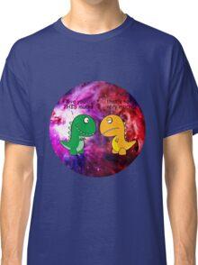 Dinosaur Love Quote Classic T-Shirt