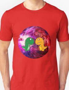 Dinosaur Love Quote Unisex T-Shirt