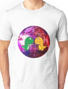 Dinosaur Love Quote Unisex T-Shirt