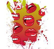 Hot Lips by Bethany-Bailey
