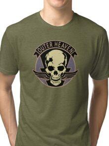 Metal Gear Solid V - Outer Heaven (Black) Tri-blend T-Shirt