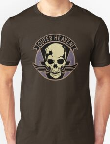 Metal Gear Solid V - Outer Heaven (Black) Unisex T-Shirt