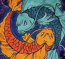 Koi Fish by Bethany-Bailey