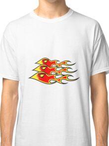 Feuer flammen formation  Classic T-Shirt